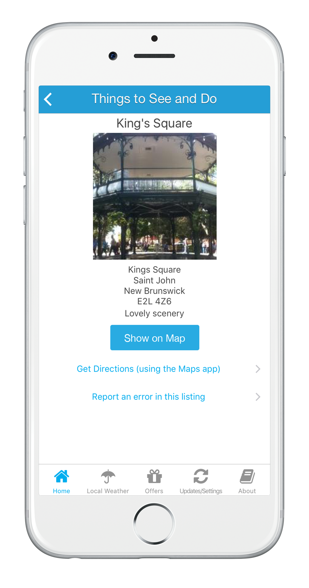Canmore App local business listings, Canmore Alberta